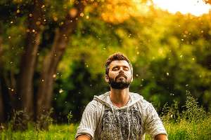 Meditation and mindfulness to prevent relapse after an outpatient program concept